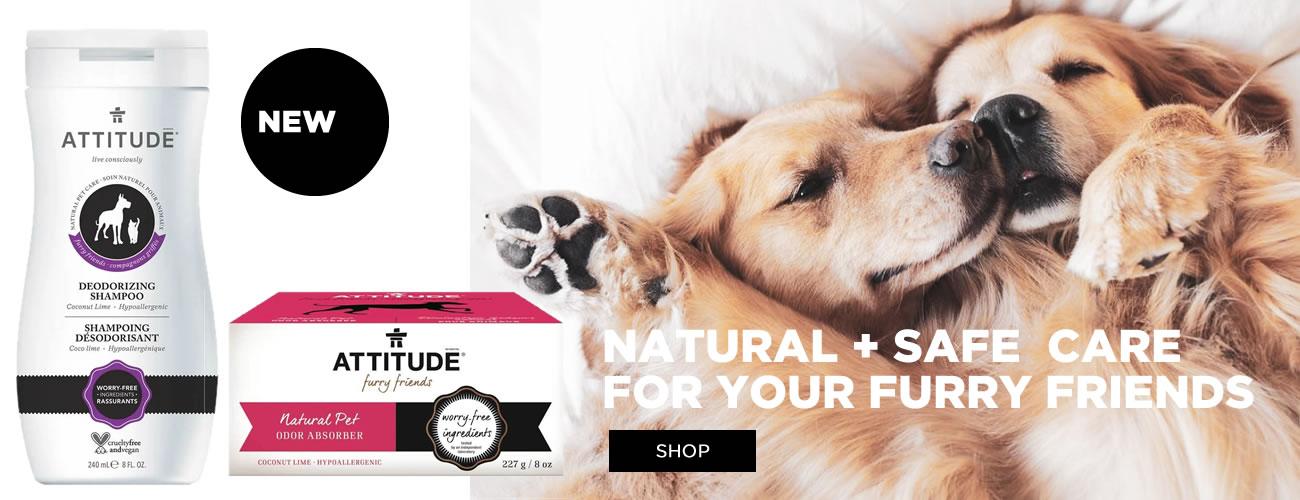 New Attitude Furry Friends Natural Pet Care